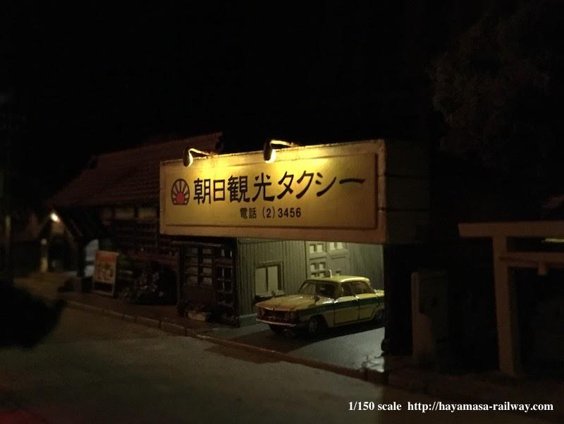 夜の朝日観光タクシー
