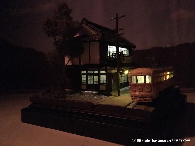 駅前食堂の夜