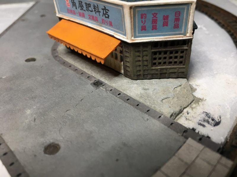 セメント表面の剥落
