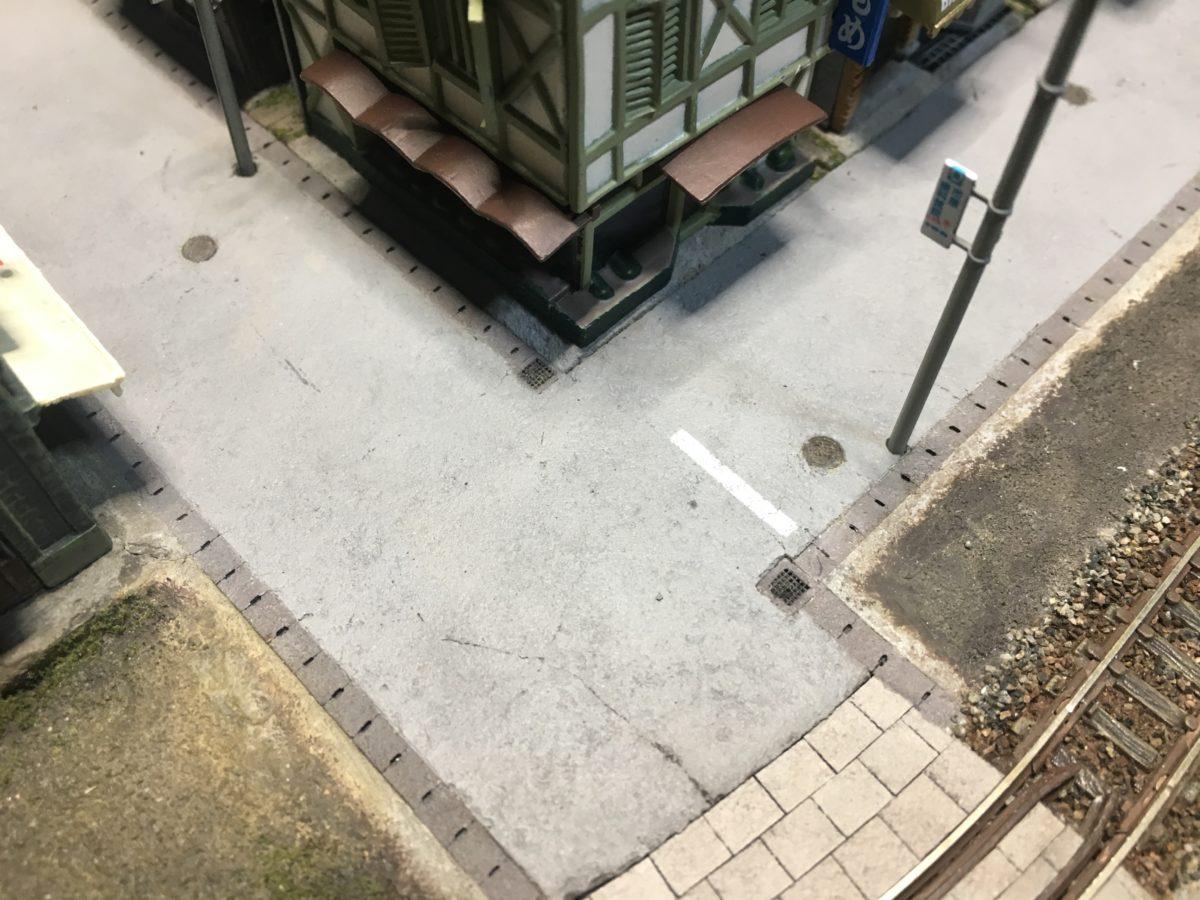 舗装道路の製作2・道路の舗装